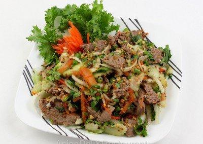 Spicy Beef Cucumber Salad