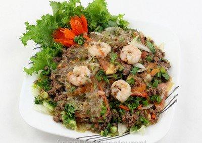 Yum Bean Thread Salad